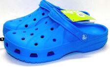 CROCS CALEN Ocean Blue Roomy Fit Convertible Clogs Men's 7 Women's Size 9 NEW