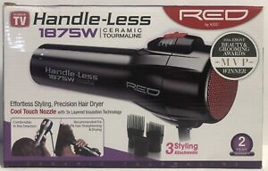 Red By Kiss Professional Handle Less Ceramic Tourmaline Hair Dryer - See Details
