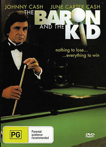 The Baron and the Kid  - Johnny Cash New and Sealed DVD