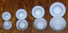 4 Pairs ASSORTED Sizes Salt & Pepper SHAKER Rubber STOPPERS fit New & Old S & P