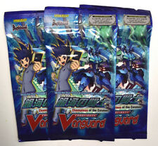 Cardfight! Vanguard G Champions of the Cosmos Sealed Booster Pack LOT OF 3