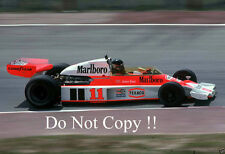 James Hunt McLaren M23 F1 Season 1976 Photograph 2