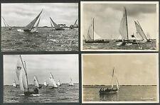 11 Ansichtkaarten motief zeilschepen