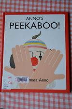 anno's peekaboo! hard cover.