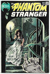 THE PHANTOM STRANGER #10 FN/VF 7.0 SCARCE NEAL ADAMS BLACK COVER! BRONZE DC!