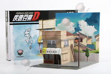 1:64 YumeBox Initial D Takumi Fujiwara Tofu Shop Diorama Display Model Kit Set