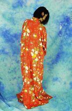 KAWAII JAPANESE KIMONO STYLE    HURISODE  made in Japan   made of Silk