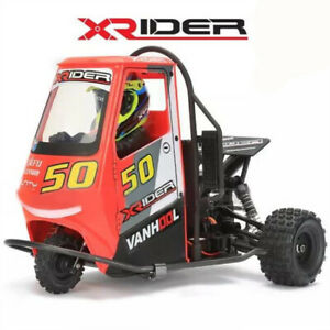 2.4G X-Rider 1/8 Piaggio Ape 1:8 2WD Kids Battery Powered Drift Cars RTR