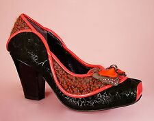 Irregular Choice Poetic licence Sweetalicious Orange  ladies shoes UK 3  /  36