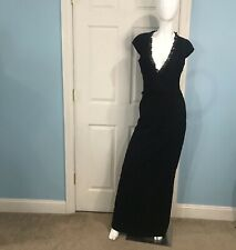NWT Alice by Temperley Long Dress Black Size 4