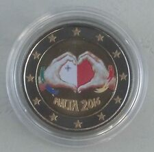 2 Euro Malta 2016 Liebe in Farbe unz.