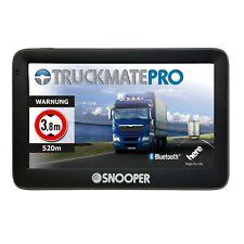 "SNOOPER Truckmate PRO S5100 5"" Zoll LKW Navigationssystem Lastwagen Navi WiFi"
