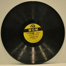 "JACK FINA   ""Always / Once In A Lifetime""  78 RPM   M-G-M 10801"