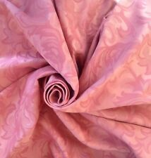 Rose Pink Prestigious Jacquard Brocade  Curtain Upholstery Fabric 10 Metres