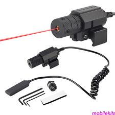 Táctica Mini Pistola Red Dot Laser Visión Óptica Para Arma Caza de tiro de tiro