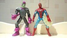 Spider-Man & Green Goblin Marvel Amazing Action Figures - Size 6