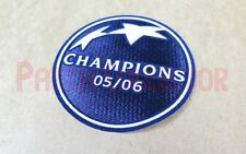 UEFA Champions League Winner 2005-2006 Barcelona Soccer Patch / Badge