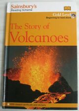 Story of Volcanoes Sainsbury's NO STICKERS Gold Level 9781405375641 Ganeri