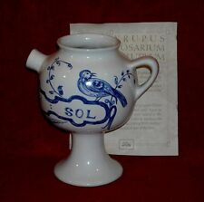 APOTHECARY JAR ~SYR ROSAR SOL~ REPRODUCTION by LILLY  #17876