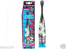 Monster High enfants fille Alimentation Piles turbo brosse à dents, bleu âge 8+