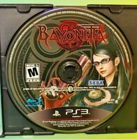 Bayonetta -  Sony PlayStation 3 PS3 Game Tested & Working
