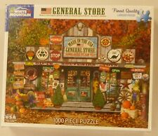 White Mountain 1000 Piece Puzzle General Store 1217
