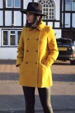 Cappotti e giacche da donna gialli cotone