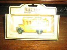 LLEDO - DAYS GONE COLLECTION - 1934 DENNIS DELIVERY VAN - CHEESE STRAWS LIVERY