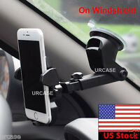 Universal 360° Windshield Mount Car Holder for Mobile Phone GPS iPhone Samsung