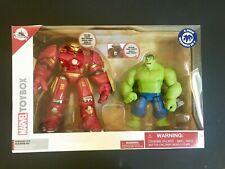 Disney Toybox Action Figures Hulkbuster & Hulk Exclusive 2-Pack Battle Set