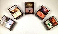 mtg Magic the Gathering 100 basic land game card lot mixed mana