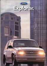 1997 FORD EXPLORER Australian 12p Brochure, Flyer, Specs & Colour Chart