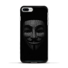 Anonymous Mask Case For iPhone X 8 7 6 Plus 5 Galaxy S8 S7 S6 Edge