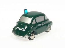 """Schuco Piccolo BMW Isetta """"Polizei"""" # 50159300"""