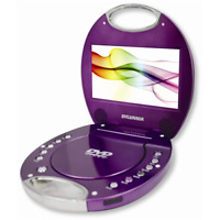 Sylvania SDVD7046-Purple 7-Inch Portable DVD Player with Integrated Handle, Purp