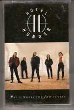 HOTEL HUNGER: THIS IS WHERE THE FUN STARTS CASSETTE HARD ROCK MEGAFORCE RECORDS