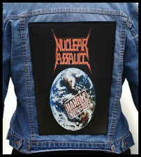 NUCLEAR ASSAULT - Handle with Care   --- Huge Jacket Back Patch Backpatch