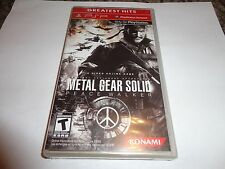 Metal Gear Solid: Peace Walker  (PlayStation Portable, 2010) NEW PSP