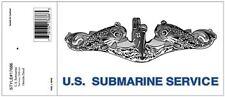 NAVY U.S. SUBMARINE SERVICES MILITARY WINDOW CAR DECAL