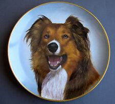 """Kaiser Porcelain """"Faithful Companions"""" Plate - Rough Collie - New with Coa"""