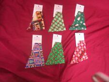 CHRISTMAS--DOG BANDANA--Groomer & Pet Store Supply--Wholesale--6 pcs--Med Dog Sz
