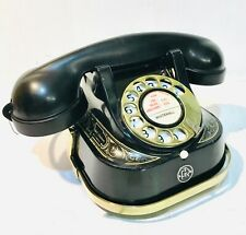 1950's  Rotary Telephone - Bell RTT-56 - Brass Handle - Very Clean, Working Well