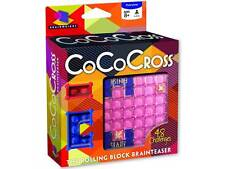 COCO CROSS ROLLING BLOCK PUZZLE BRAIN TEASER MIND BENDER NOVELTY TRICK TOY GAME