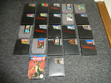 Nintendo 8 bit NES Games Collection-PAL- 22 Games Mario Turtles Gradius LOT
