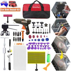 85pcs Car Paintless Dent Repair Dint Hail Damage Remover Puller Lifter Tools Kit