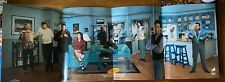 Seinfeld TV show promo booklet and poster SUPER RARE 2004 cardboard fold-out