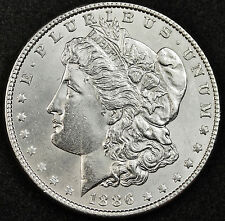 1886-p Morgan Silver Dollar.  B.U.