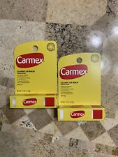 CARMEX CLASSIC MEDICATED LIP BALM SPF 15 TRUSTED RELIEF (Pack of 2)
