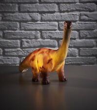 Retro Brontosaurus Dinosaur Novelty Table Lamp - Childrens Bedroom Accessory