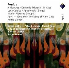 Foulds: Orchestral Works, Hope, Bickley, New Import